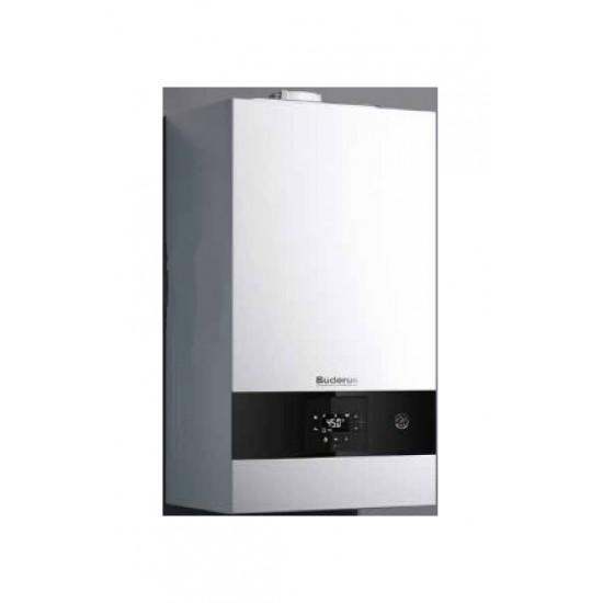 Buderus Logamax Plus GB122-24 KD H Επίτοιχος λέβητας αερίου συμπύκνωσης 24 kW 20640 kcal/h (Δώρο καμινάδα & Θερμοστάτης ) (3 άτοκες δόσεις)